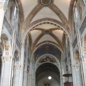 Basilica di san Colombano, navata centrale